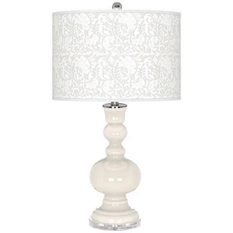 West Highland White Gardenia Apothecary Table Lamp