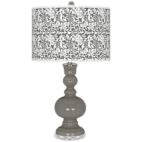 Gauntlet Gray Gardenia Apothecary Table Lamp