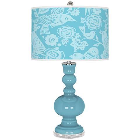 Nautilus Aviary Apothecary Table Lamp