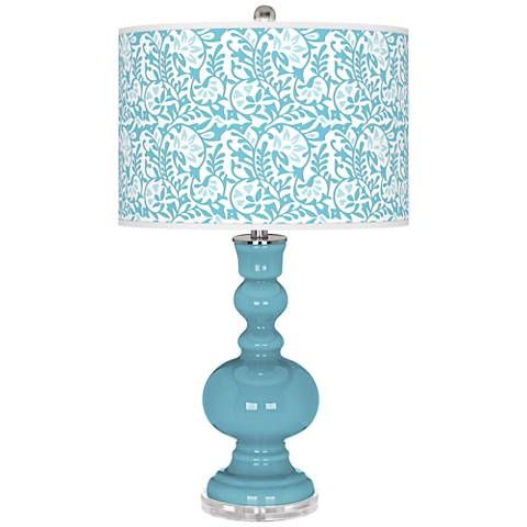 Nautilus Gardenia Apothecary Table Lamp