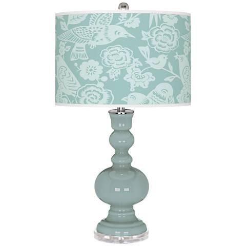 Aqua-Sphere Aviary Apothecary Table Lamp