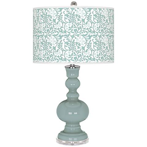 Aqua-Sphere Gardenia Apothecary Table Lamp