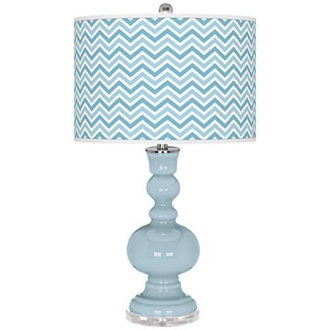 Vast Sky Narrow Zig Zag Apothecary Table Lamp