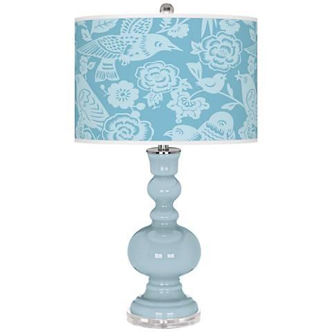 Vast Sky Aviary Apothecary Table Lamp