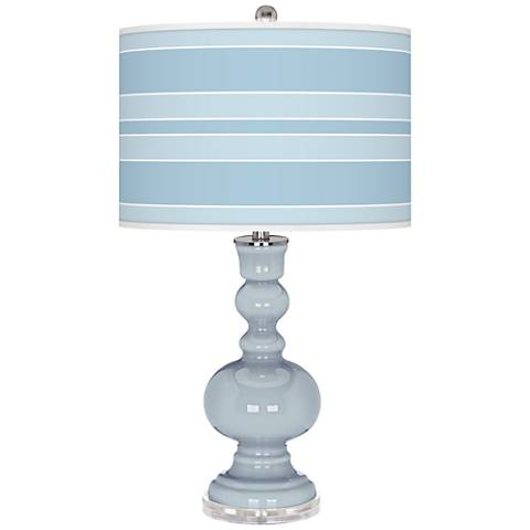 Take Five Bold Stripe Apothecary Table Lamp