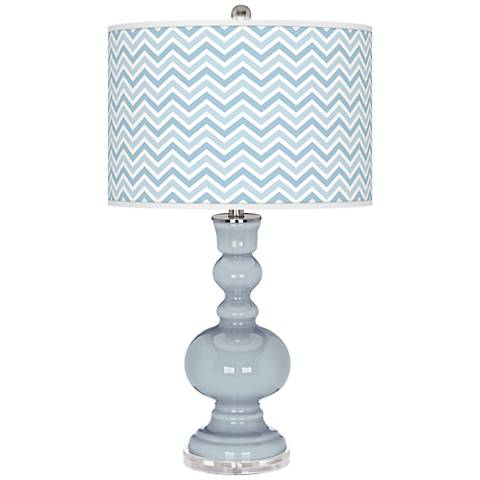 Take Five Narrow Zig Zag Apothecary Table Lamp