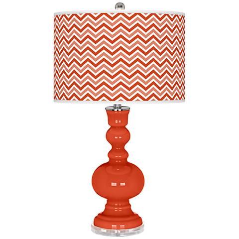 Daredevil Narrow Zig Zag Apothecary Table Lamp