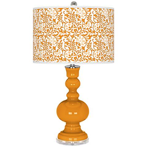 Carnival Gardenia Apothecary Table Lamp