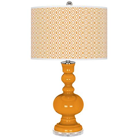 Carnival Diamonds Apothecary Table Lamp