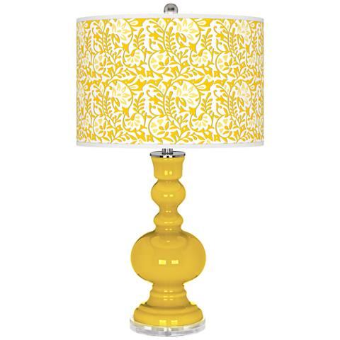 Citrus Gardenia Apothecary Table Lamp