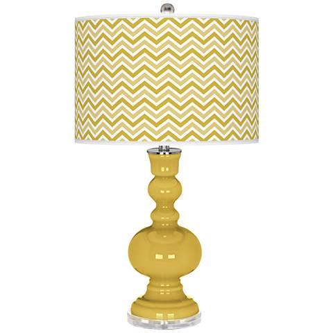 Nugget Narrow Zig Zag Apothecary Table Lamp