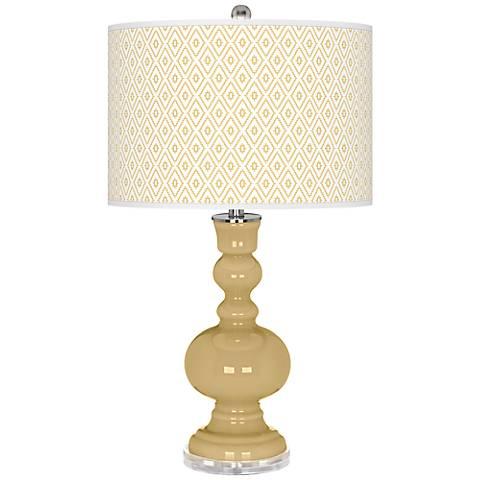 Humble Gold Diamonds Apothecary Table Lamp