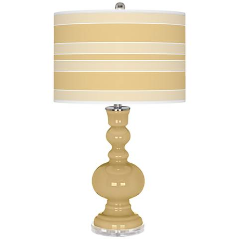 Humble Gold Bold Stripe Apothecary Table Lamp