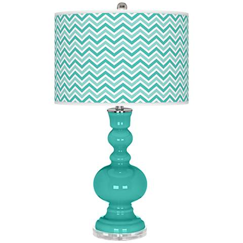 Synergy Narrow Zig Zag Apothecary Table Lamp