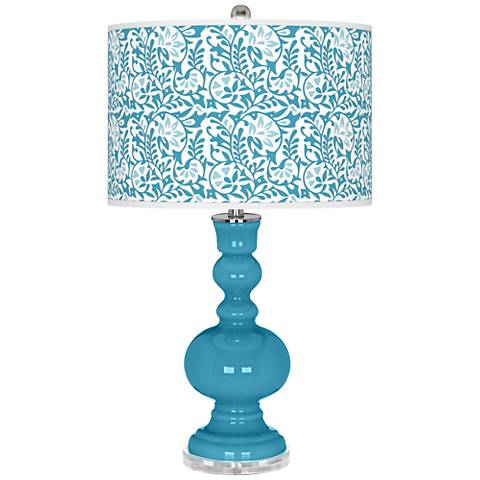 Jamaica Bay Gardenia Apothecary Table Lamp