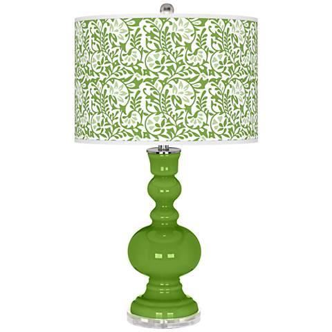 Rosemary Green Gardenia Apothecary Table Lamp