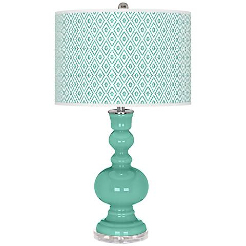 Larchmere Diamonds Apothecary Table Lamp