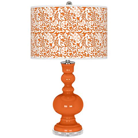 Invigorate Gardenia Apothecary Table Lamp