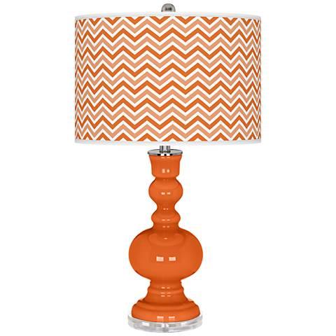 Invigorate Narrow Zig Zag Apothecary Table Lamp