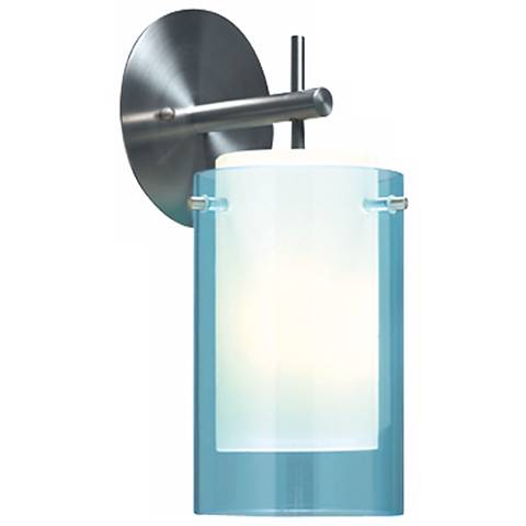 "Tech Lighting 13"" High Aquamarine Echo Wall Sconce"