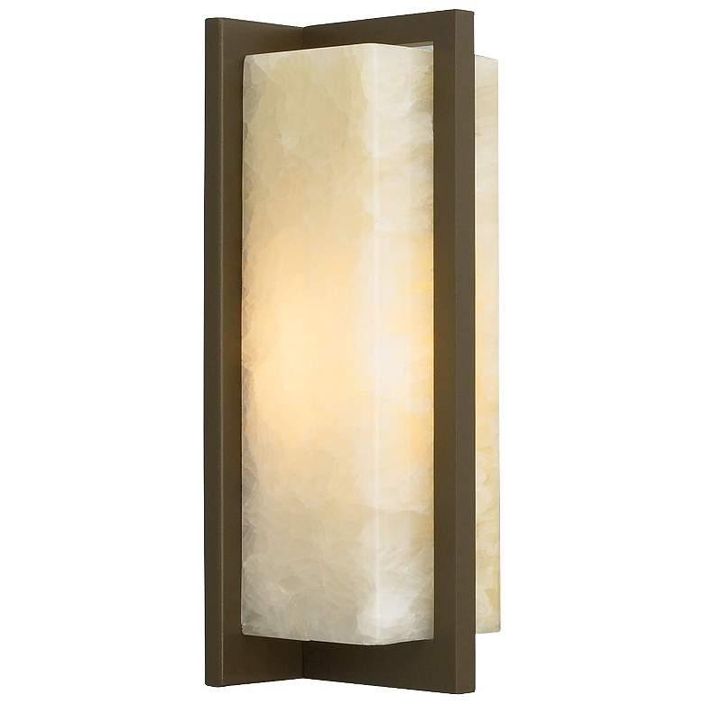 "Coronado 11 1/4"" High Antique Bronze LED Wall Sconce"