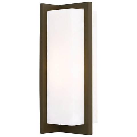 """Coronado 11 1/4"""" High White LED Wall Sconce"""