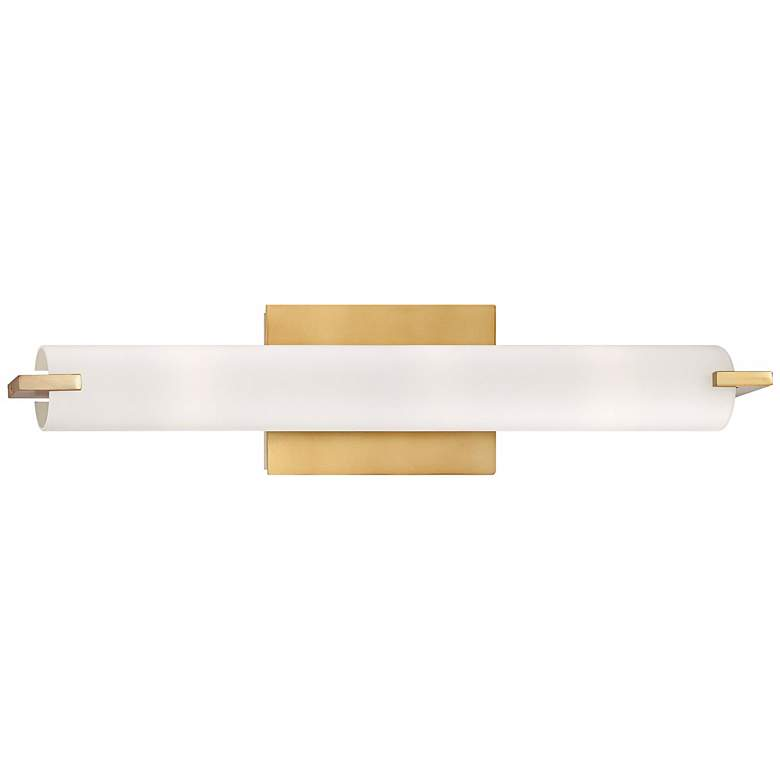 "George Kovacs Gold 20 1/2"" Wide Bathroom Vanity Light"