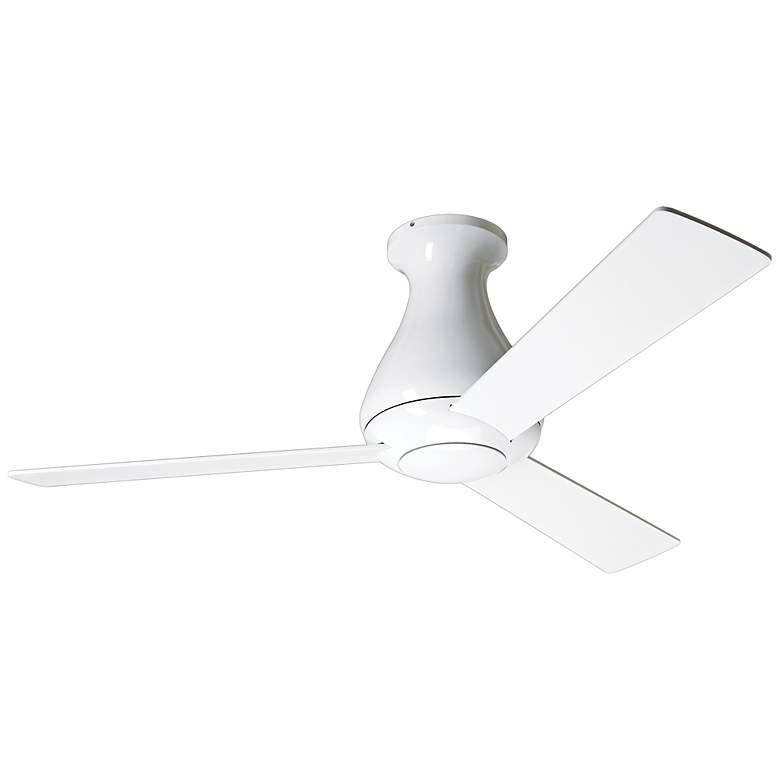"""42"""" Modern Fan Altus Hugger Gloss White Ceiling Fan"""