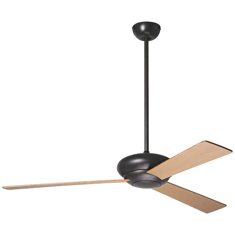 "52"" Period Arts Altus Maple Blades Dark Bronze Ceiling Fan"