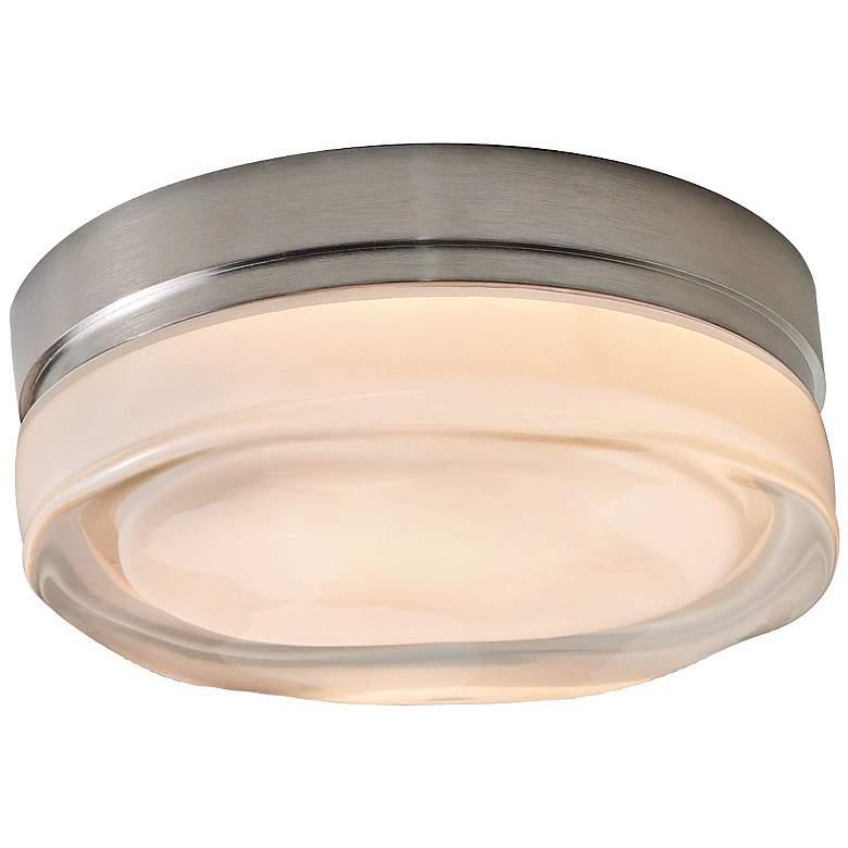 "Tech Lighting Fluid Small 6"" Round Nickel Ceiling Light"