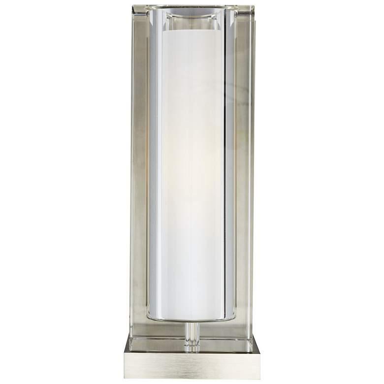 """Tech Lighting Jayden 10 3/4"""" High Clear Glass Wall Light"""