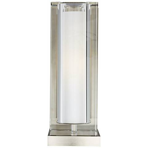 "Tech Lighting Jayden 10 3/4"" High Clear Glass Wall Light"