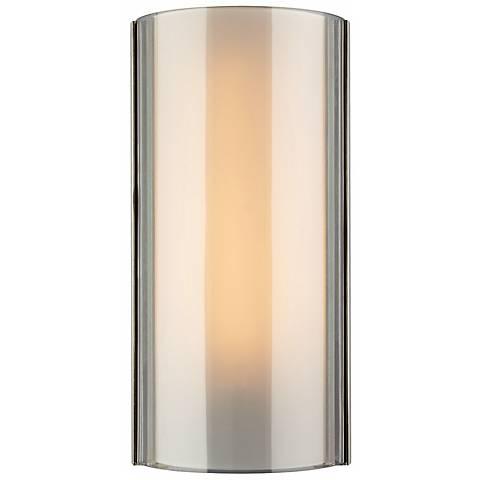 "Jaxon LED Smoke Glass 14 1/2""H Tech Lighting Wall Light"