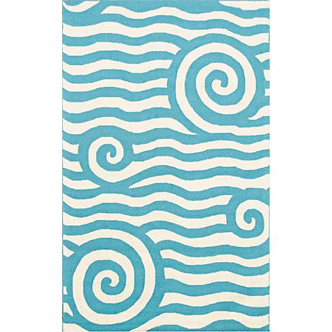 Resort Yala 25295 Blue Area Rug