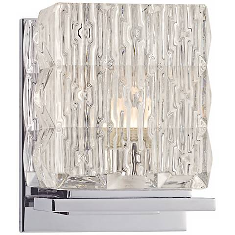"Torrington 5 1/2"" High Polished Chrome Wall Sconce"