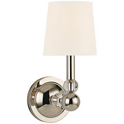"Danville 13"" High Polished Nickel Wall Sconce"