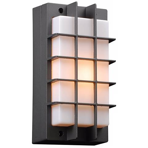 "Lorca 10 1/2"" High Bronze Outdoor Wall Light"