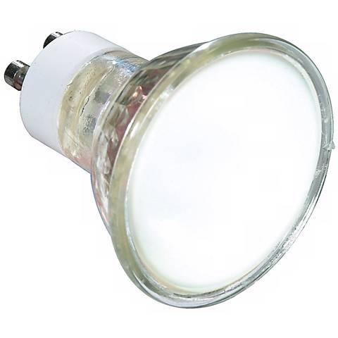 35 Watt GU-10 MR16 Frosted Light Bulb