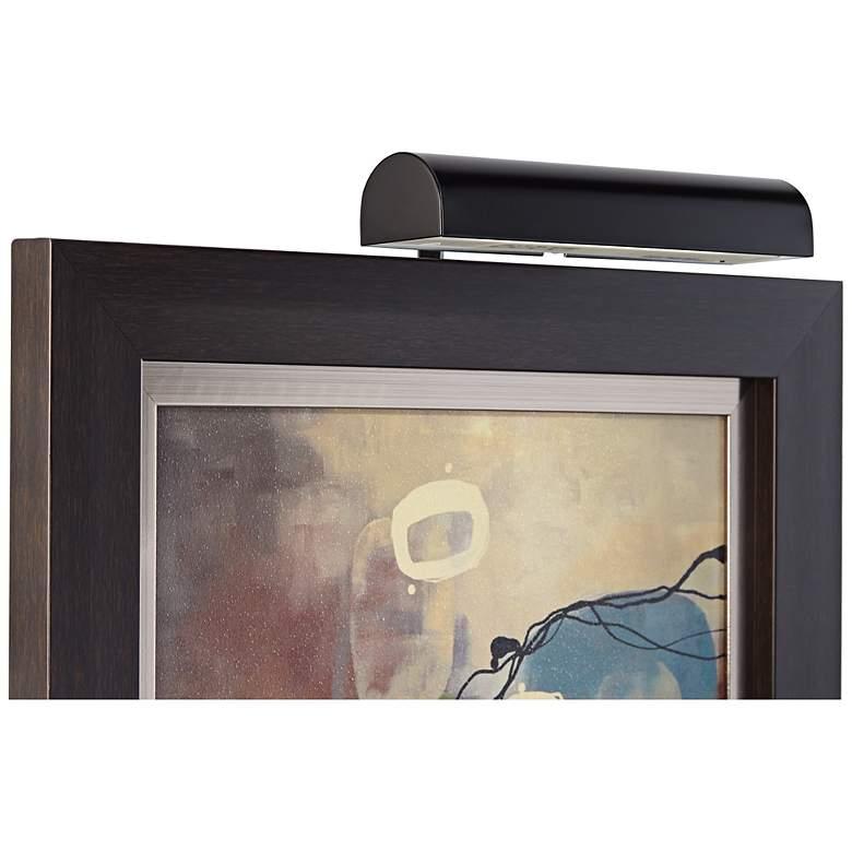 "Concept 11 1/2"" Wide Black Cordless-Remote LED Picture Light"
