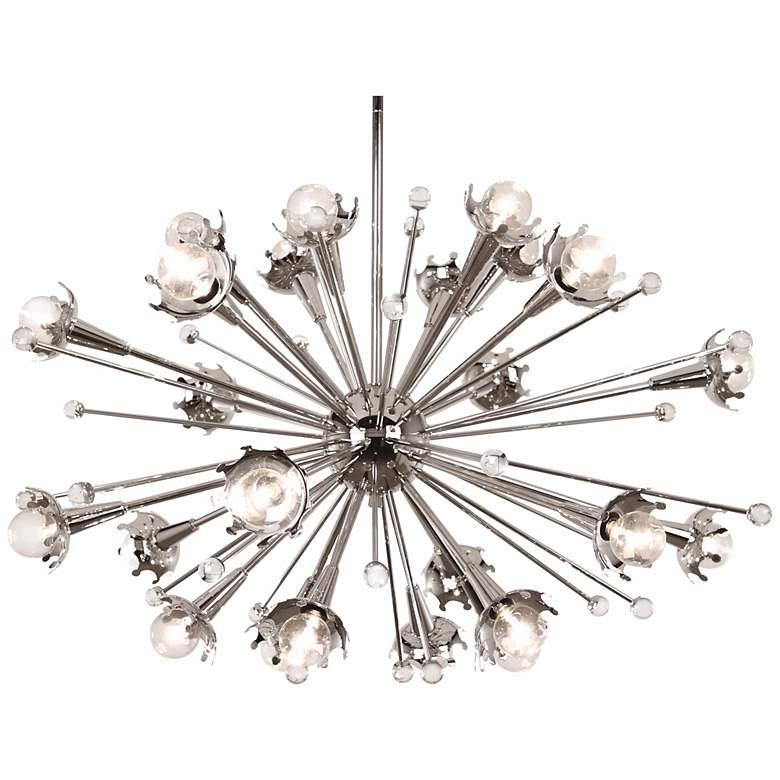 Jonathan Adler Sputnik 24-Light Polished Nickel Chandelier