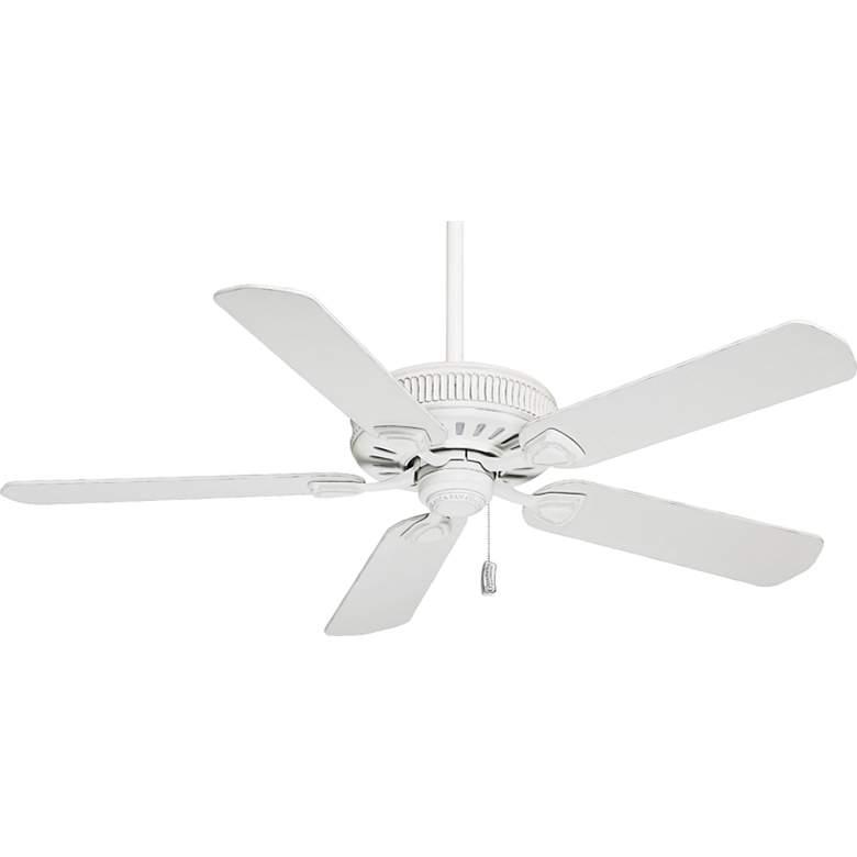 "54"" Casablanca Ainsworth Cottage White Ceiling Fan"
