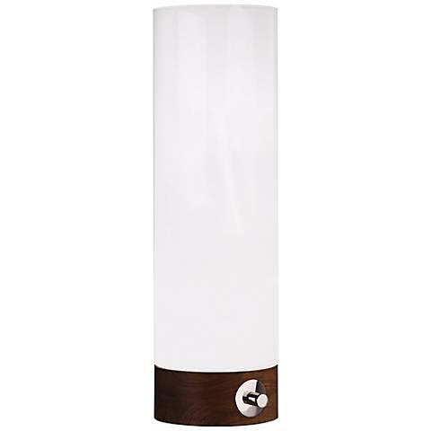 Jonathan Adler Capri Large White Glass Table Torchiere
