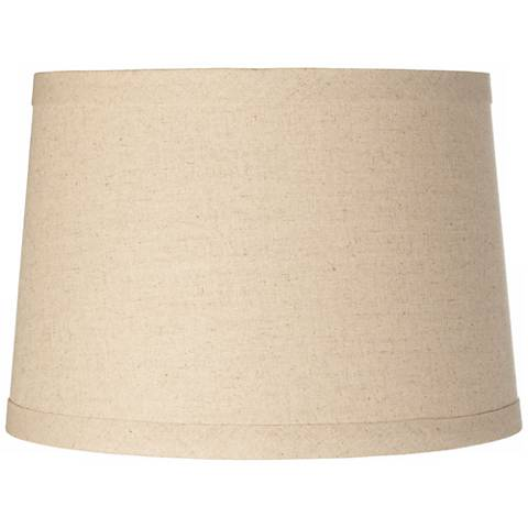 Burlap drum lamp shade 14x16x11 spider y8898 lamps plus burlap drum lamp shade 14x16x11 spider aloadofball Image collections