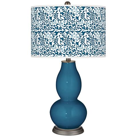 Bosporus Gardenia Double Gourd Table Lamp