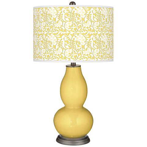 Daffodil Gardenia Double Gourd Table Lamp