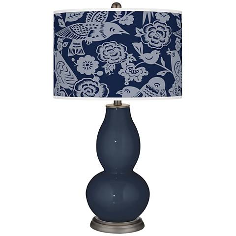 Naval Aviary Double Gourd Table Lamp