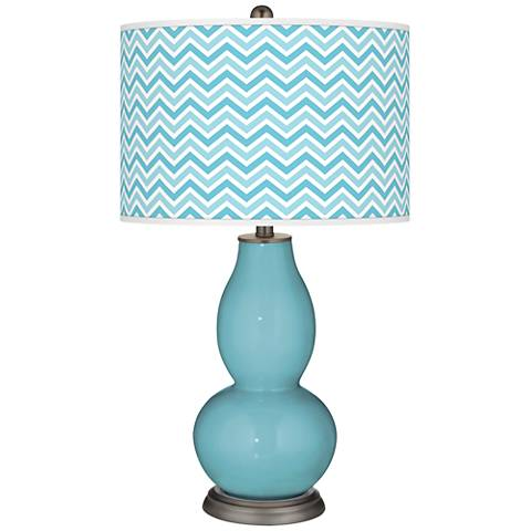 Nautilus Narrow Zig Zag Double Gourd Table Lamp