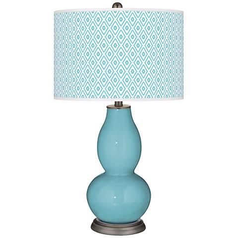 Nautilus Diamonds Double Gourd Table Lamp
