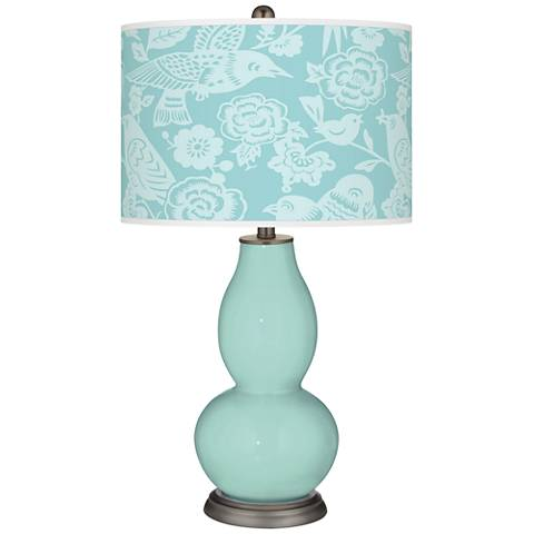 Cay Aviary Double Gourd Table Lamp