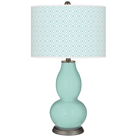 Cay Diamonds Double Gourd Table Lamp